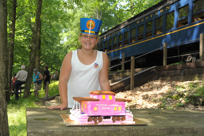 Birthday Caboose